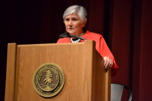 Diane Ravitch at Stanford University, 9/30/13.