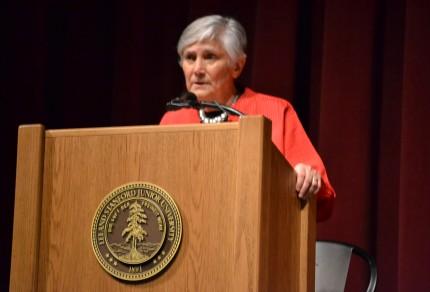 Diane Ravitch at Stanford University, 9/30/13.