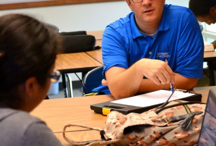 Jeff Frieden, English teacher and department chair at Hillcrest HS.