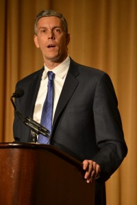 Arne Duncan's policies face a challenge in the current debates around ESEA reauthorization.