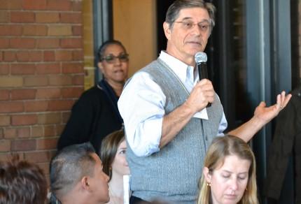 Tom Alves addressing the CalTURN meeting in Sacramento, 3/5/13.
