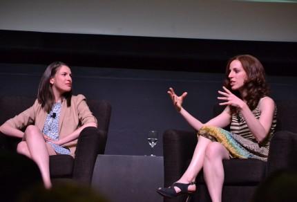 Dana Goldstein and Elizabeth Green , Stanford University, 5/7/15.