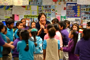 Jane Fung and students, Alexander Science Center Elementary (LAUSD).