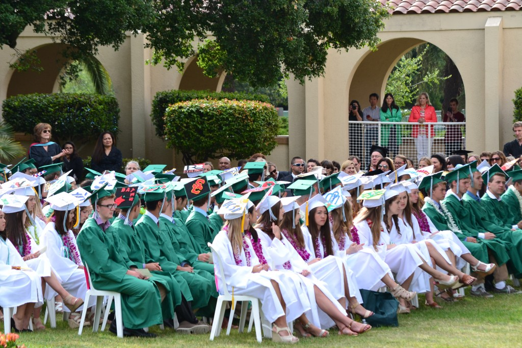 Palo Alto High School graduation, June 2015.