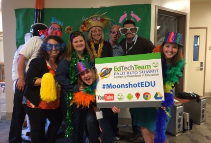 EdTechTeam, Palo Alto Summit featuring Moonshots in Education; by Kimberly Diorio (used with permission).