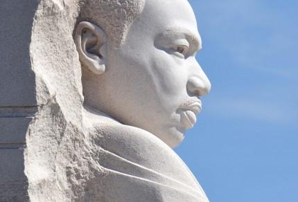 Closeup of Stone of Hope. Photo credit: NPS/volunteer Bill Shugarts. Public domain.